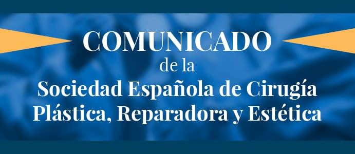 Comunicado COVID-19 SECPRE